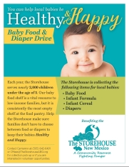 Healthy Happy Baby Flyer