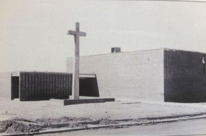 St. Tim's new church building September 9, 1951