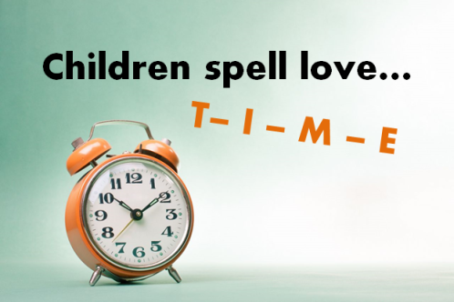love spelled time