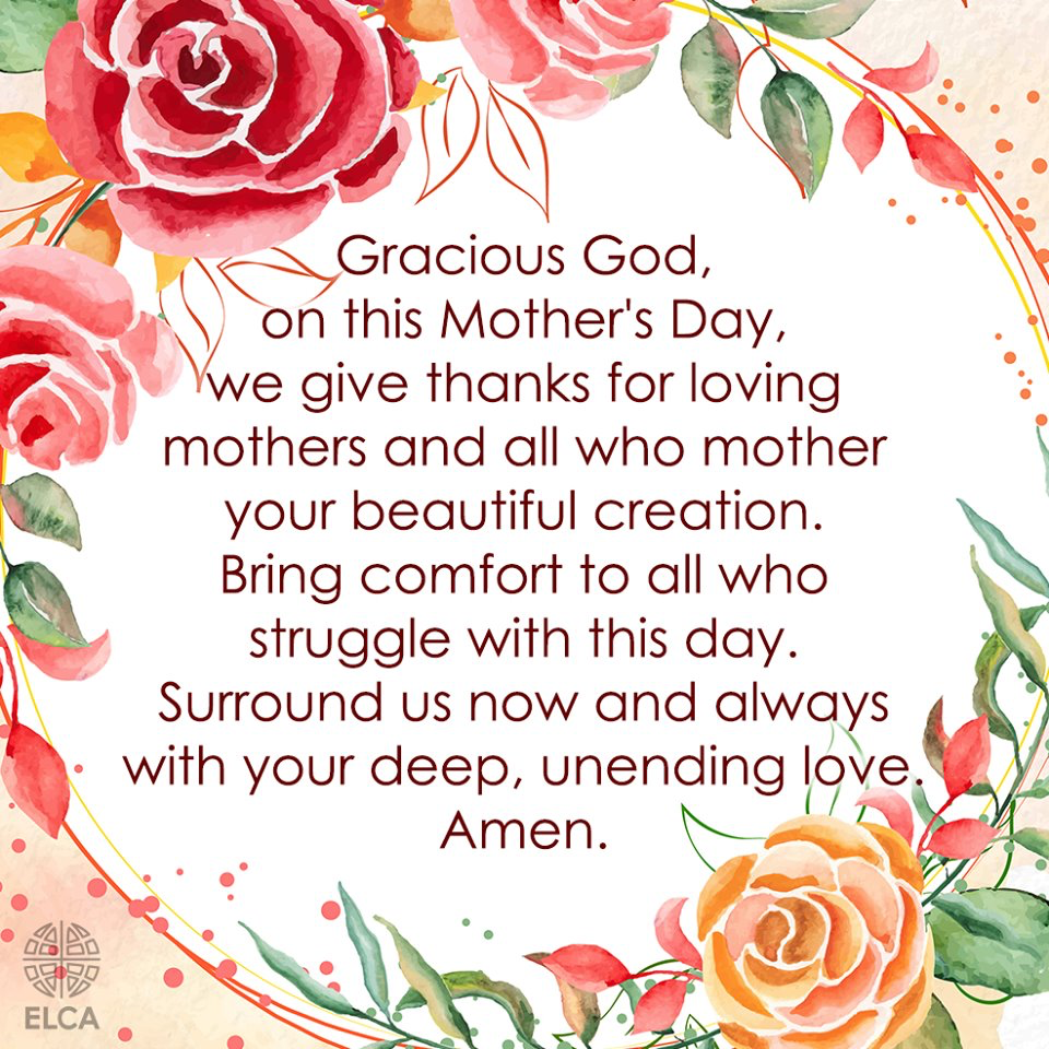 Mother's Day Prayer - ELCA